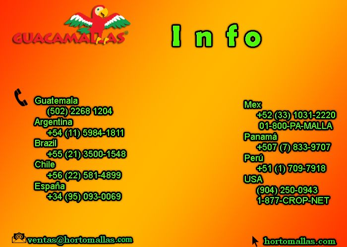 contact information guacamallas
